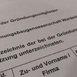 Gründung Wohnungsbaugenossenschaft Wardenburg und Umzu eG. Foto Uta GrAb